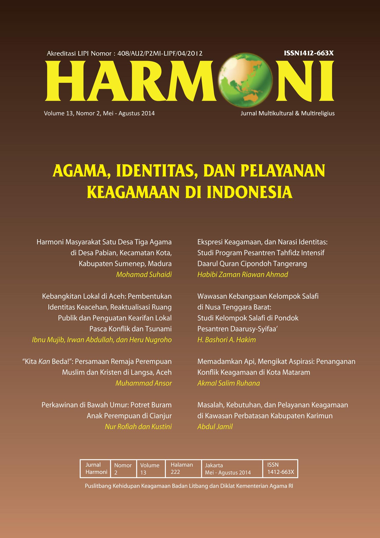 View Vol. 13 No. 2 (2014): Mei-Agustus 2014