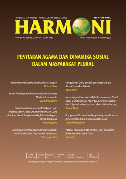 View Vol. 11 No. 1 (2012): Januari-Maret 2012