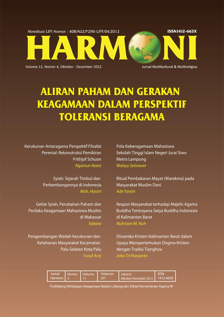 View Vol. 11 No. 4 (2012): Oktober-Desember 2012